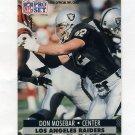 1991 Pro Set Football #547 Don Mosebar - Los Angeles Raiders