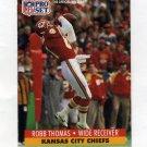 1991 Pro Set Football #539 Robb Thomas - Kansas City Chiefs