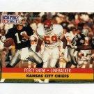 1991 Pro Set Football #538 Percy Snow - Kansas City Chiefs