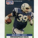 1991 Pro Set Football #529B Mike Prior - Indianapolis Colts