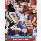 1991 Pro Set Football #521 Bubba McDowell - Houston Oilers
