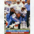 1991 Pro Set Football #516 Drew Hill - Houston Oilers