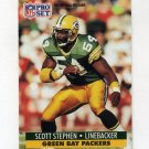 1991 Pro Set Football #512 Scott Stephen RC - Green Bay Packers