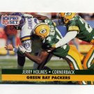 1991 Pro Set Football #509 Jerry Holmes - Green Bay Packers