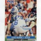 1991 Pro Set Football #501 Eddie Murray - Detroit Lions
