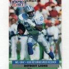 1991 Pro Set Football #500 Mel Gray - Detroit Lions