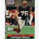 1991 Pro Set Football #465 Bruce Reimers - Cincinnati Bengals