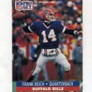 1991 Pro Set Football #448 Frank Reich - Buffalo Bills
