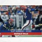 1991 Pro Set Football #447 Scott Norwood - Buffalo Bills