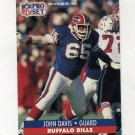 1991 Pro Set Football #443 John Davis RC - Buffalo Bills