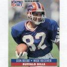 1991 Pro Set Football #442 Don Beebe - Buffalo Bills