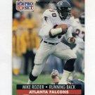 1991 Pro Set Football #440 Mike Rozier - Atlanta Falcons