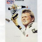 1991 Pro Set Football #402 Morten Andersen - New Orleans Saints