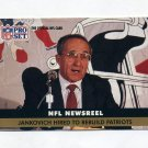 1991 Pro Set Football #344 Sam Jankovich - New England Patriots
