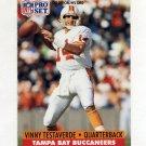 1991 Pro Set Football #314 Vinny Testaverde - Tampa Bay Buccaneers