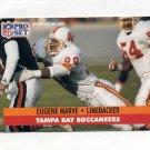 1991 Pro Set Football #312 Eugene Marve - Tampa Bay Buccaneers