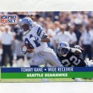 1991 Pro Set Football #301 Tommy Kane - Seattle Seahawks