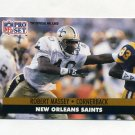 1991 Pro Set Football #238 Robert Massey - New Orleans Saints