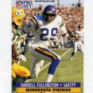 1991 Pro Set Football #217B Darrell Fullington - Minnesota Vikings