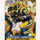 1991 Pro Set Football #203 Buford McGee - Los Angeles Rams