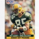 1991 Pro Set Football #160 Jeff Query - Green Bay Packers