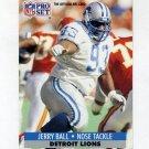1991 Pro Set Football #146 Jerry Ball - Detroit Lions