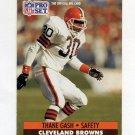 1991 Pro Set Football #119 Thane Gash - Cleveland Browns