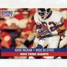 1991 Pro Set Football #065 Mark Ingram - New York Giants
