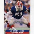 1991 Pro Set Football #082 Jim Ritcher - Buffalo Bills