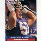 1991 Pro Set Football #075 Shane Conlan - Buffalo Bills