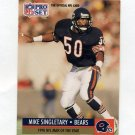 1991 Pro Set Football #005 Mike Singletary - Chicago Bears