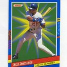 1991 Donruss Baseball Grand Slammers #03 Kal Daniels - Los Angeles Dodgers