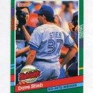 1991 Donruss Baseball Bonus Cards #BC21 Dave Stieb - Toronto Blue Jays