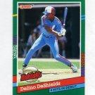 1991 Donruss Baseball Bonus Cards #BC16 Delino DeShields - Montreal Expos