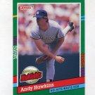 1991 Donruss Baseball Bonus Cards #BC12B Andy Hawkins - New York Yankees
