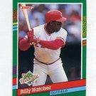1991 Donruss Baseball #763 Billy Hatcher - Cincinnati Reds