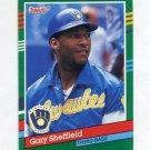 1991 Donruss Baseball #751 Gary Sheffield - Milwaukee Brewers