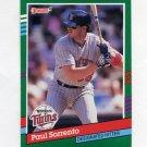 1991 Donruss Baseball #745 Paul Sorrento - Minnesota Twins