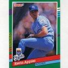 1991 Donruss Baseball #740 Kevin Appier - Kansas City Royals