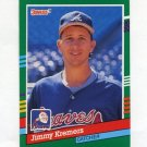1991 Donruss Baseball #739 Jimmy Kremers - Atlanta Braves