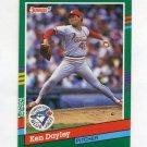 1991 Donruss Baseball #735 Ken Dayley - Toronto Blue Jays