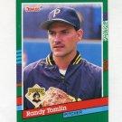 1991 Donruss Baseball #725 Randy Tomlin RC - Pittsburgh Pirates