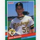 1991 Donruss Baseball #699 Stan Belinda - Pittsburgh Pirates