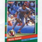 1991 Donruss Baseball #677 Wally Joyner - California Angels
