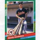 1991 Donruss Baseball #668 Brady Anderson - Baltimore Orioles