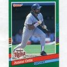 1991 Donruss Baseball #659 Junior Ortiz - Minnesota Twins