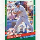 1991 Donruss Baseball #650 Steve Balboni - New York Yankees
