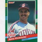 1991 Donruss Baseball #649 Kevin Wickander - Cleveland Indians
