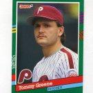 1991 Donruss Baseball #635 Tommy Greene - Philadelphia Phillies