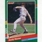 1991 Donruss Baseball #627 Andy Benes - San Diego Padres